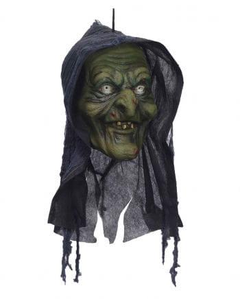 Sumpf Hexenkopf Halloween Deko