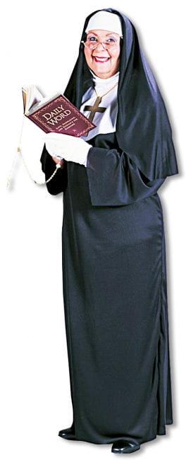 Super Nun Costume Plus Size