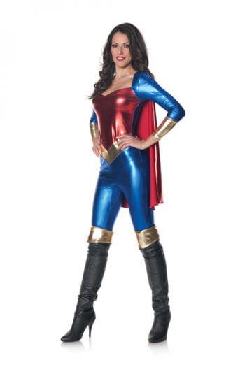 Superheldin Jumpsuit XL