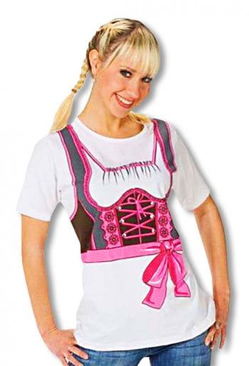 T-Shirt Dirndl Pink