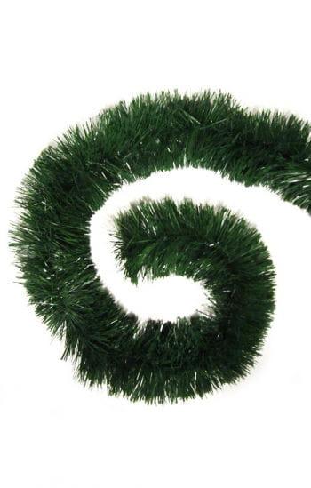 Green Tinsel Garland 4 m