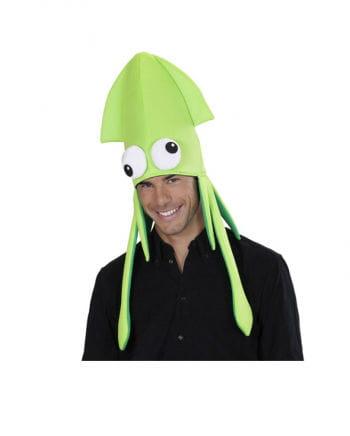 Tintenfisch Hut grün