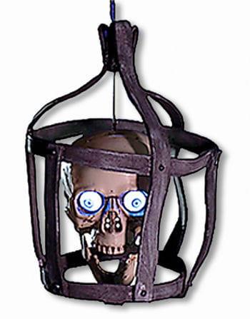 Sprechender Totenkopf Käfig Animatronic