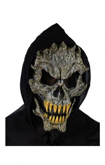 Totenkopf mit Fangzähnen Maske