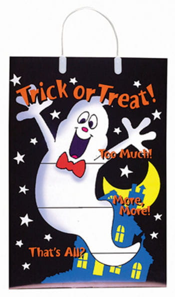 Trick or Treat Bag Happy Ghost