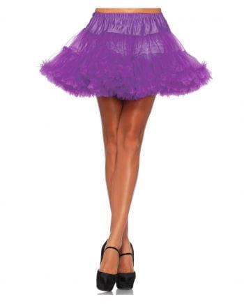 Leg Avenue Petticoat Purple