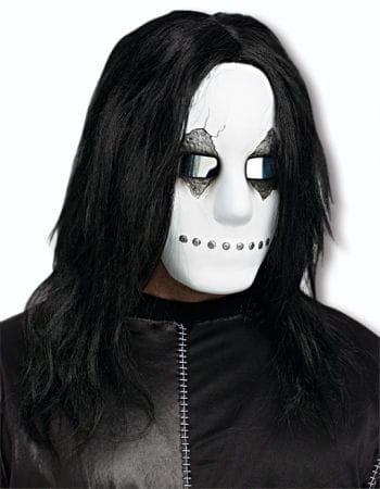 Creepy Doll Face Mask White