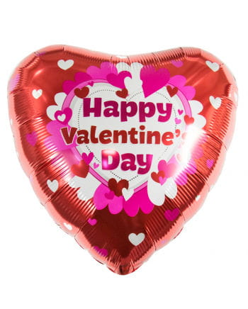 Happy Valentins Day Folienballon