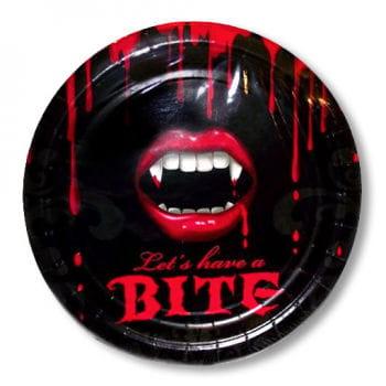 Vampire Paper Plates Set of 8