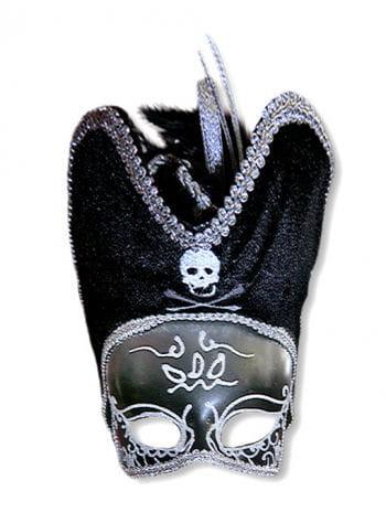 Venezia pirate mask silver