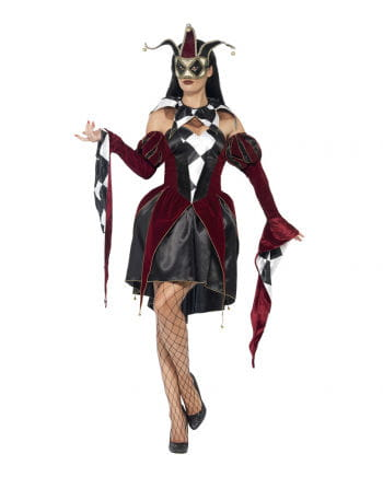 Venetian Harlequin Ladies Costume