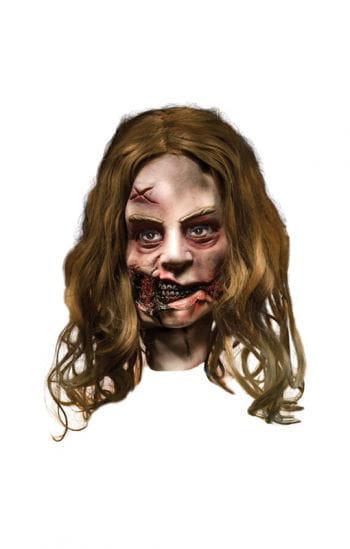 Walking Dead Zombie Girl Maske
