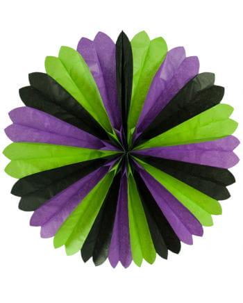Wandrosette 3-farbig 60 cm