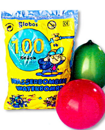 Water Bomb Colorful 100 Pieces
