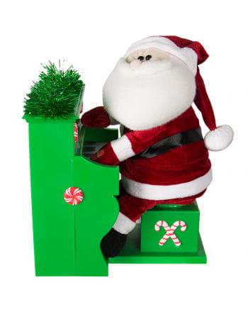 Plays Santa Claus Piano