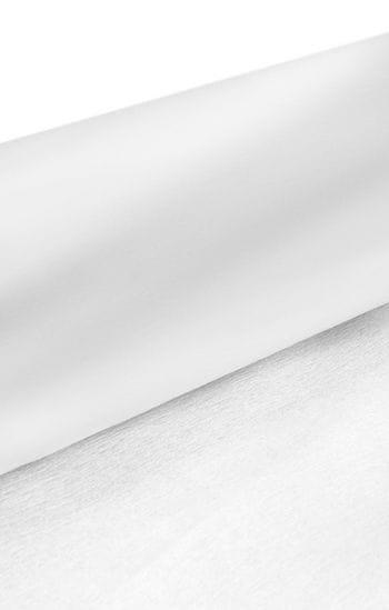 Niflamo Deko-Krepp weiß 10 m