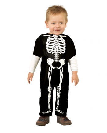 Skelett Babykostüm