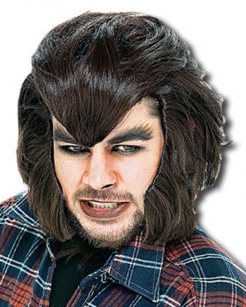 Werwolf Perücke braun