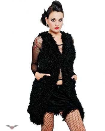 Waistcoat Made Of Artificial Fur Gr.M
