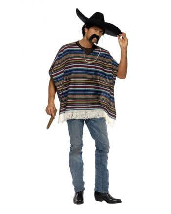 Western Poncho Kostüm