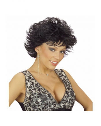 Wet Look Wig Dannii Black