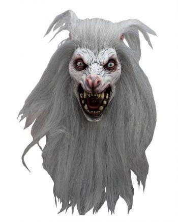 White Moon Werewolf Mask