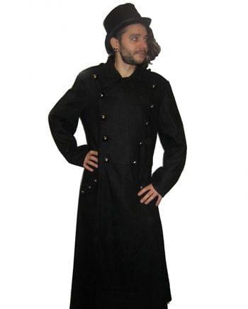 Uniform style wool coat size M