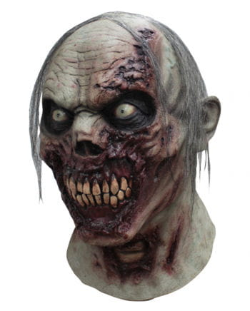 Zombie Mask With Hair