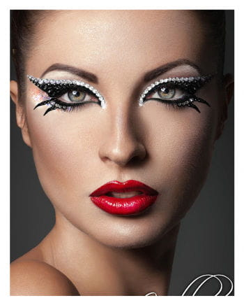 Xotic Eyes Cleopatra Black Silver