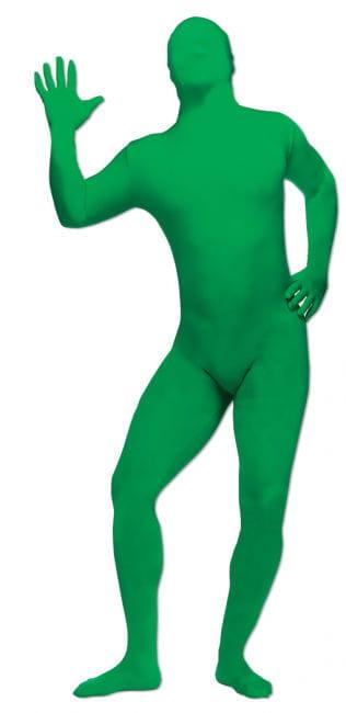 Grüner Ganzkörperanzug