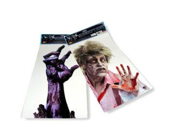 Zombie Window Cling