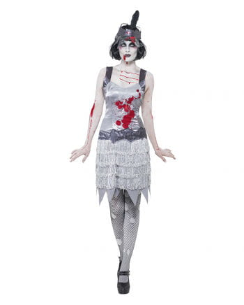 Zombie Flapper Damenkostüm