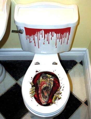 Zombie Klodeckel Sticker