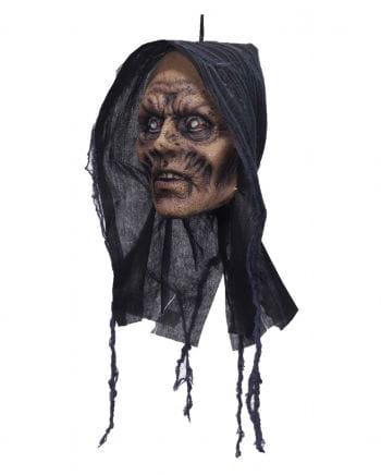 Zombie Kopf zum Aufhängen