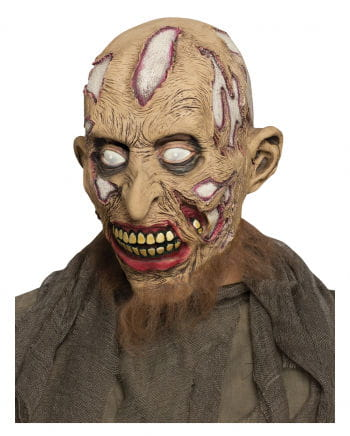 Zombie mask with beard