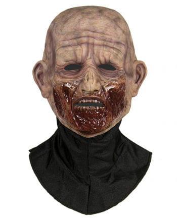 Silicone Half Mask Zombie Bite