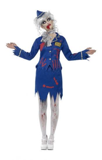 Zombie Stewardess Kostüm