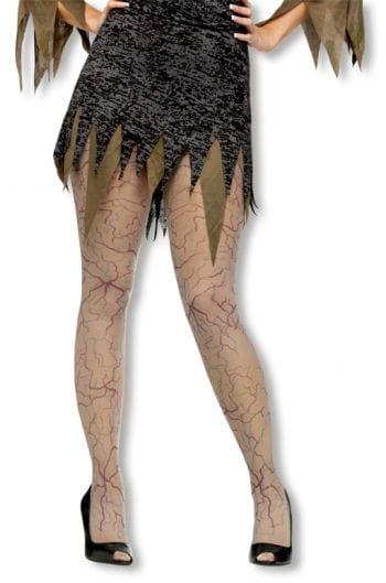 Zombie Veins Pantyhose