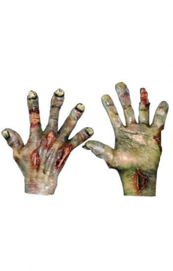 Zombiepranken grün
