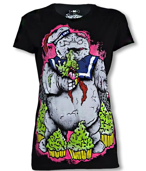 ghostbusters zombie shirt emo punk gothic fashion horror. Black Bedroom Furniture Sets. Home Design Ideas