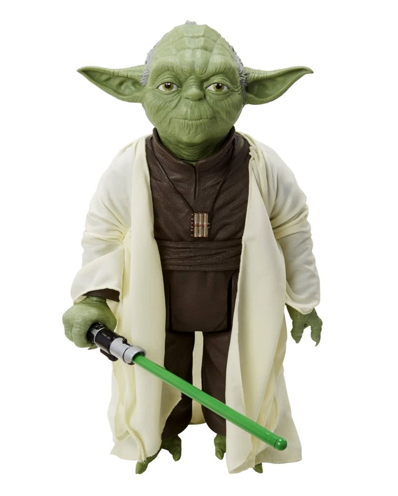 star wars yoda standfigur jedi meister sammlerfigur. Black Bedroom Furniture Sets. Home Design Ideas