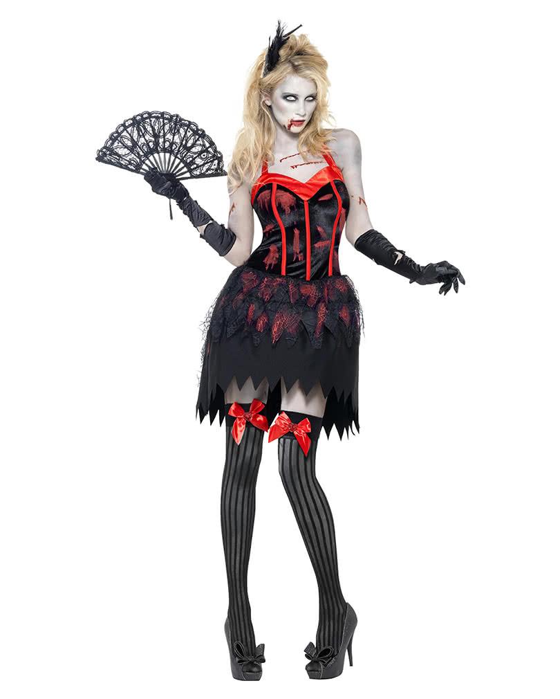 zombie burlesque kost m m sexy damen zombie kost m horror. Black Bedroom Furniture Sets. Home Design Ideas