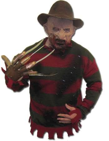Freddy Krueger Pullover Deluxe Original Freddy Krueger Sweater