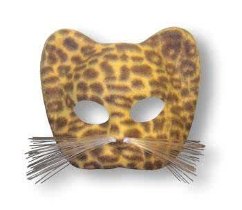 sc 1 st  Horror-Shop.com & Leopard Mask Brown | horror-shop.com