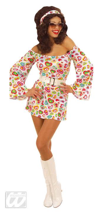 Disco Queen Kostum M Gogo Dancing Queen 70er Disco Kostum Horror