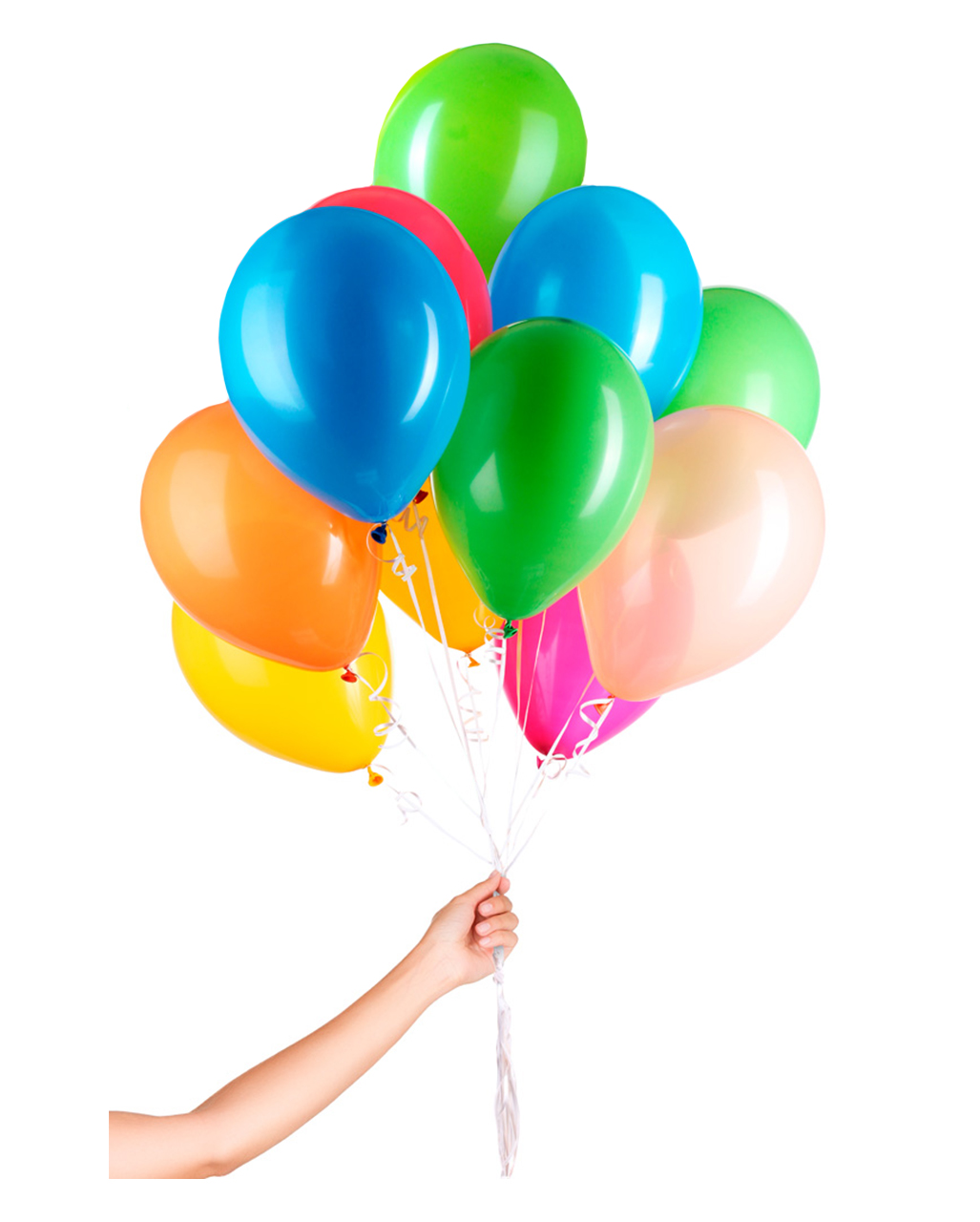 30 Latex Balloons For Helium With String To Order