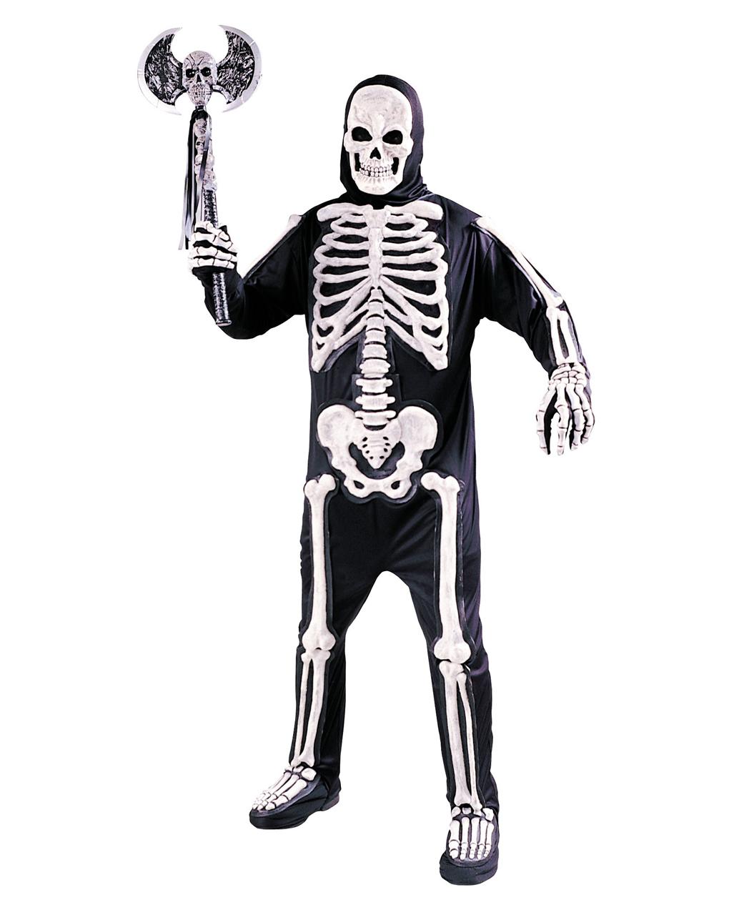 3D Skeleton Costume Adult as bone skeleton for Halloween | horror-shop.com  sc 1 st  Horror-Shop.com & 3D Skeleton Costume Adult as bone skeleton for Halloween | horror ...