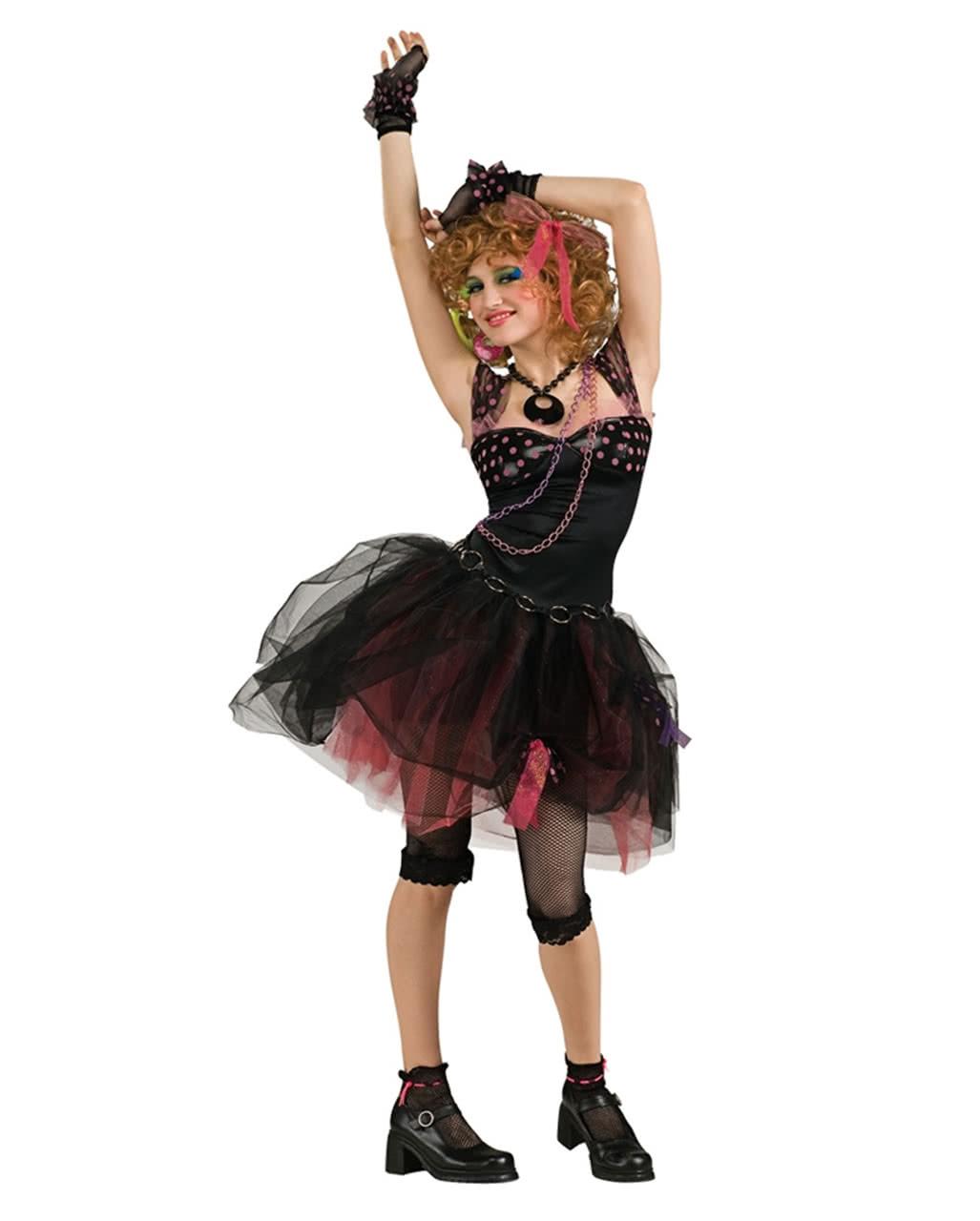 80s Diva Teen Costume As carnival costume | horror-shop.com