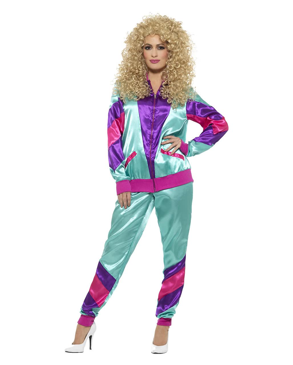 80s Jogging Suit Costume Bad Button Horror Shop Com