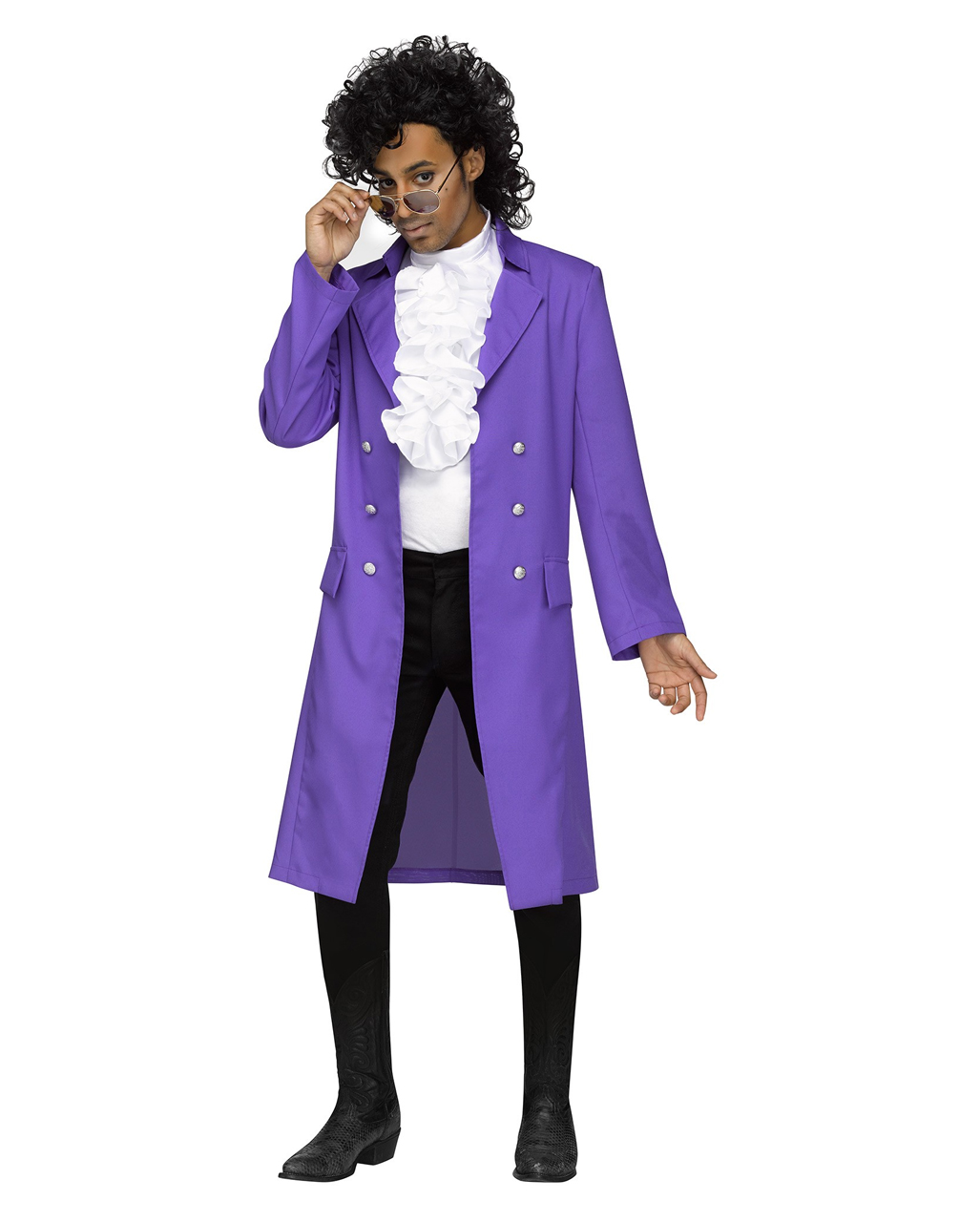 80s Purple Rain Costume for carnival | horror-shop.com